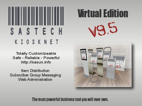 SasTech KioskNet 9.51 Virtual Edition