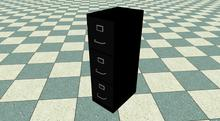 Mesh Office File Cabinet (3 Drawer)