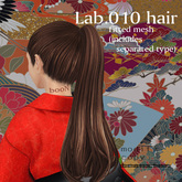 *booN Lab.010 hair black pack