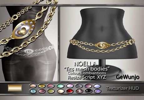 GeWunjo : NOELLA gold belt