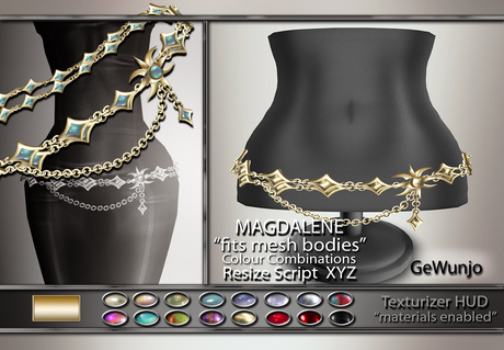 GeWunjo : MAGDALENE gold belt ...