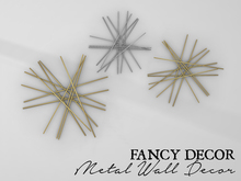 Fancy Decor: Metal Wall Decor