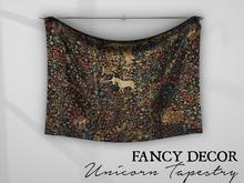 Fancy Decor: Unicorn Tapestry