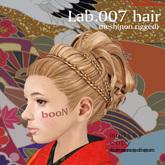 *booN Lab.007 hair black pack