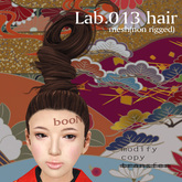 *booN Lab.013 hair black pack