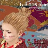 *booN Lab.015 hair black pack
