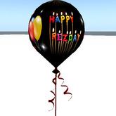 Happy Rez Day Balloon - copyable