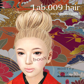 *booN Lab.009 hair black pack