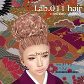 *booN Lab.011 hair brown pack