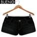 BUENO- Denim Shorts - Black