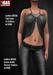 Gas  ladies meshtop lynn   ladies mesh jeans kelly  ad1