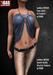 Gas  ladies meshtop lynn   ladies mesh jeans kelly  ad2