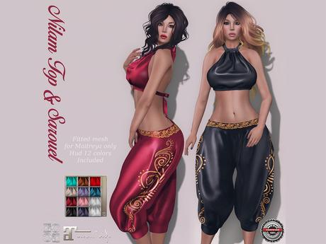 .:EC:. Nilam Sarouel Harem Outfit  (Maitreya)