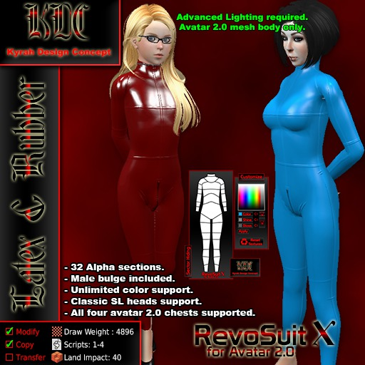 KDC Revosuit X