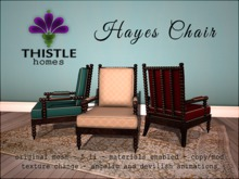 Thistle Homes - Hayes Chair Angelic PG