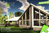 inVerse® MESH - STOWE - full furnished contemporary  mesh house