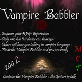Vampire Babbler