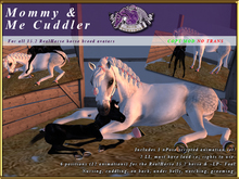 *E* RealHorse Mommy & Me Cuddler RH 15.2 & LP Foal [BOXED]