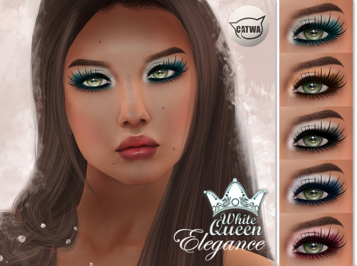 ::White Queen:: - elegance eyeshadow -catwa