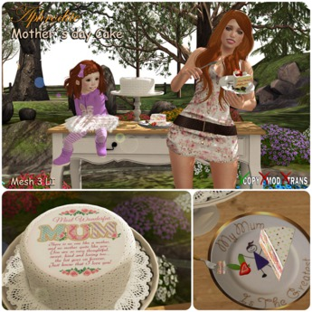 "Aphrodite ""Mother`s day"" Cake"
