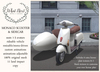 {what next} 'Ivory' Monaco Scooter & Sidecar