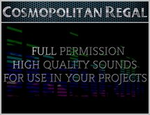 19 FULL PERM Chime Sounds by Cosmopolitan Regal