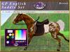 *E* Rigged GP English Saddle Set  [BOXED] RHPOA Pony Brown