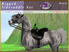 *E* Rigged Sidesaddle Set [BOXED] RHAB Black
