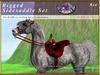 *E* Rigged Sidesaddle Set [BOXED] RHAB Red