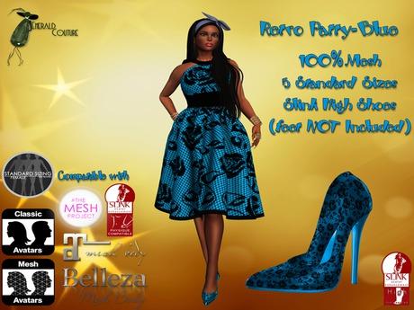 EC Retro Patty Blue