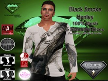 EC Black Smoke Henley Shirt