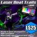 :Frio's: Laser Beat Trails Rave Attachments + HUD