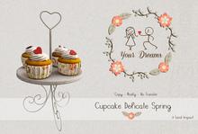 {Your Dreams } Cupcake Delicate Spring.