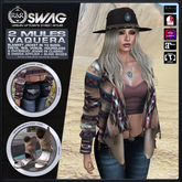 [RnR] Swag 2 Mules Vaquera, Native American & Country Western Outfit