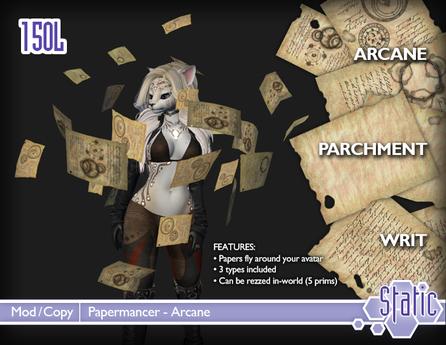 ::Static:: Papermancer - Arcane