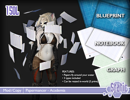 ::Static:: Papermancer - Academia
