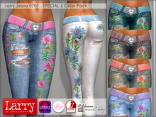 LARRY JEANS - Jeans 070F - 6 Color Pack