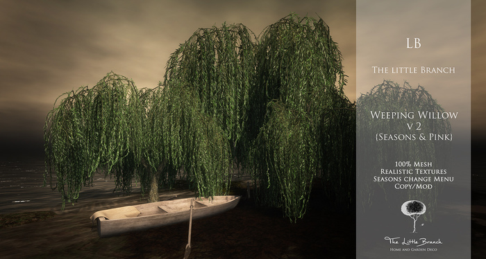 LB Weeping Willow V2 Animated 4 Seasons Mesh
