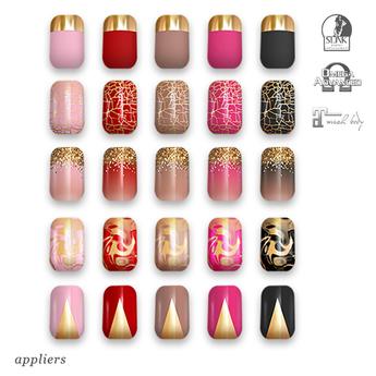 "alaskametro<3 ""Classic/Gold"" Slink/Omega/Maitreya/Eve nail polish applier"