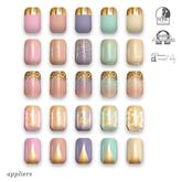 "alaskametro<3 ""Pastels/Gold"" Slink/Omega/Maitreya/Eve nail polish applier"