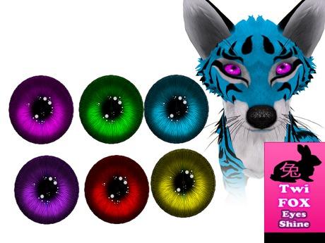 TWI Fox shiny eyes fatpack