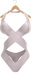 Blueberry - Michelle Mesh Swimsuit - Maitreya Lara, Belleza Freya Isis, Slink Physique Hourglass - White
