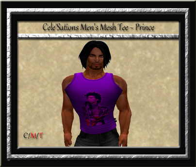 Cele'Sations Purple Prince Men's Tank Top