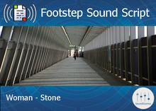 Footstep Script - Women - Stone 1 - Single