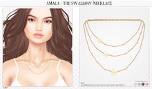 Amala - The Swallow Necklace - Fatpack