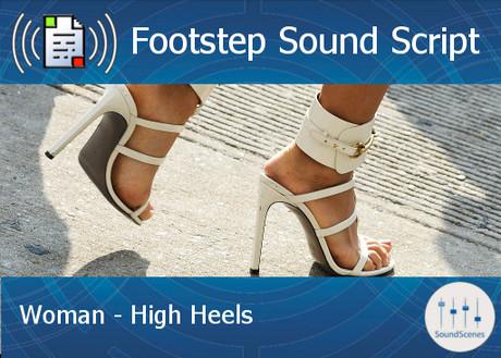 Footstep Script - Women - High Heels 1 - Copy