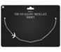 Amala - The Swallow Necklace - Short - Silver