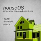 houseOS - Script your houses and sell them house script controller