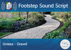 Footstep Script - Unisex - Gravel - Copy