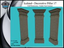 Icaland - Decorative Pillar 17